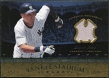 2008 Upper Deck Yankee Stadium Legacy Collection Memorabilia #DJ Derek Jeter