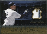 2008 Upper Deck Yankee Stadium Legacy Collection Memorabilia #GS Gary Sheffield