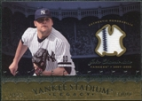 2008 Upper Deck Yankee Stadium Legacy Collection Memorabilia #JC Joba Chamberlain