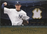 2008 Upper Deck Yankee Stadium Legacy Collection Memorabilia #MM Mike Mussina