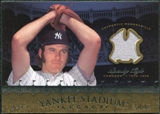 2008 Upper Deck Yankee Stadium Legacy Collection Memorabilia #SL Sparky Lyle