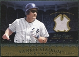 2008 Upper Deck Yankee Stadium Legacy Collection Memorabilia #WB Wade Boggs