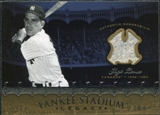 2008 Upper Deck Yankee Stadium Legacy Collection Memorabilia #YB Yogi Berra