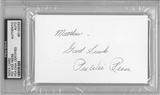 Pee Wee Reese Autographed Index Card (PSA) *6069