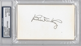Bill Dickey Autographed Index Card (PSA) *6080