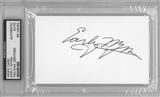 Early Wynn Autographed Index Card (PSA) *6092