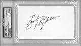 Early Wynn Autographed Index Card (PSA) *6093
