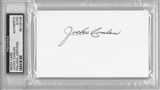 Jocko Conlan Autographed Index Card (PSA)