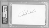 Ralph Kiner Autographed Index Card (PSA) *6109