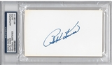 Ralph Kiner Autographed Index Card (PSA) *6111