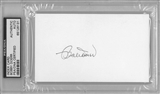 Bobby Doerr Autographed Index Card (PSA)