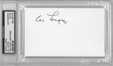 Al Lopez Autographed Index Card (PSA) *6133