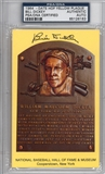 Bill Dickey Autographed HOF Plaque (PSA) *6183 Baseball Hall of Fame
