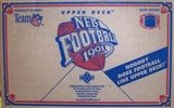 1991 Upper Deck Low # Football Wax 24-Box Case