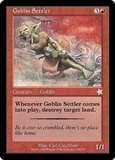 Magic the Gathering Starter Single Goblin Settler - NEAR MINT (NM)