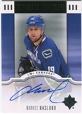 2007/08 Upper Deck Ultimate Collection Signatures #USMN Markus Naslund Autograph