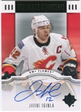 2007/08 Upper Deck Ultimate Collection Signatures #USJI Jarome Iginla Autograph