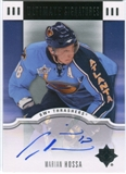 2007/08 Upper Deck Ultimate Collection Signatures #USMH Marian Hossa Autograph