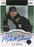 2007/08 Upper Deck Ultimate Collection Signatures #USMO Mike Modano Autograph