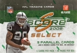 2008 Score Select Football Hobby Box