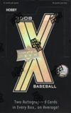 2008 Upper Deck X Baseball Hobby Box