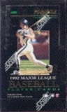 1992 Pinnacle Series 1 Baseball Hobby Box