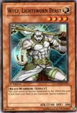 Yu-Gi-Oh Light of Destruction Single Wulf Lightsworn Beast Super Rare (LODT-EN02