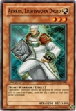 Yu-Gi-Oh Light of Destruction Single Aurkus Lightsworn Druid Super Rare LODT-EN0