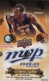 2008/09 Upper Deck MVP Basketball Hobby Box