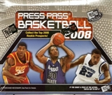 2008/09 Press Pass Basketball Hobby Box
