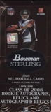 2008 Bowman Sterling Football Hobby Box