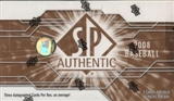2008 Upper Deck SP Authentic Baseball Hobby Box