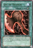 Yu-Gi-Oh Magic Ruler Single Axe Of Despair Ultra Rare (MRL-002) - SLIGHT PLAY (SP)
