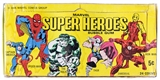 1966 Marvel Super Heroes Original Empty Display Box