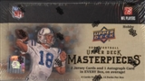 2008 Upper Deck Masterpieces Football Hobby Box