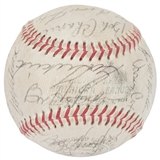 1967 Washington Senators Autographed Team Signed Baseball (JSA COA) 30 Signatures