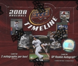 2008 Upper Deck Timeline Baseball Hobby Box