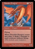 Magic the Gathering Starter Single Thunder Dragon - NEAR MINT (NM)