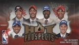 2008/09 Fleer Hot Prospects Basketball Hobby Box