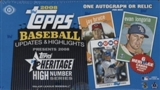 2008 Topps Heritage High Number Edition Baseball Hobby Box