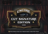 2008 Razor Cut Signature Encore Edition Hobby Box
