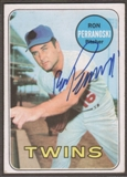 1969 Topps Baseball #77 Ron Perranoski Signed in Person Auto