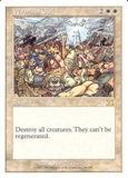 Magic the Gathering 6th Edition Single Wrath of God LIGHT PLAY (NM)