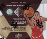 2008/09 Upper Deck SP Rookie Threads Basketball Hobby Box