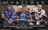 2008/09 Upper Deck Trilogy Hockey Hobby Box