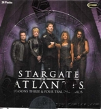 Stargate Atlantis Season 3 & 4 Trading Cards Box (Rittenhouse 2008)