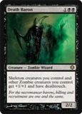 Magic the Gathering Shards of Alara Single Death Baron Foil