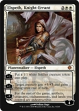 Magic the Gathering Shards of Alara Single Elspeth, Knight Errant - SLIGHT PLAY (SP)