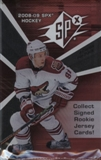 2008/09 Upper Deck SPx Hockey Hobby Pack