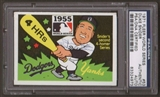 1971 Fleer World Series Duke Snider #53 Autographed Card PSA Slabbed (4973)